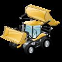 construction, bulldozer icon