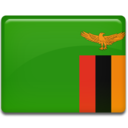zambia,flag,country icon