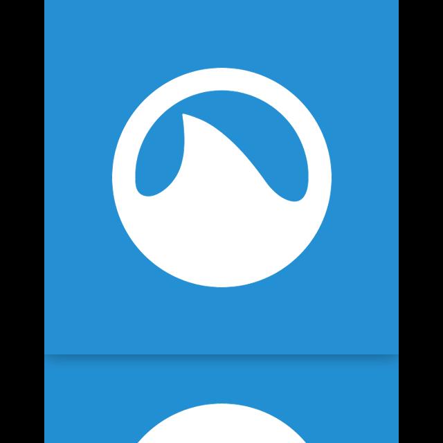grooveshark, mirror icon