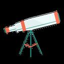 astronomy, telescope, zoom, view icon