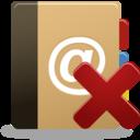 Addressbook remove icon