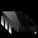 Black, Chip icon