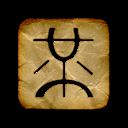 logo, wong, square, mister icon