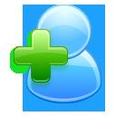 add,user,plus icon