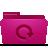 pink, backup, folder icon