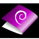 violet, folder icon