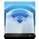 Disk, Harddisk, Hdd, Wireless icon