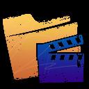 film, movie, folder, video icon