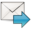 envelop, fwd, message, letter, mail, stock, email, gnome icon