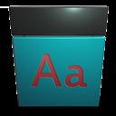 File, Fon, Type icon
