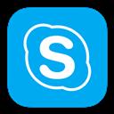 Alt, Metroui, Skype icon