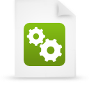 paper, file, document, green icon