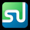 social stumbleupon box color icon