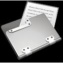 document, file, paper, folder icon