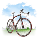travel,bicycle icon