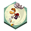 Jungle, Rayman, Run icon