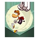 rayman, run, jungle icon