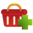 shoppingbasket,add,shoppingbasket icon