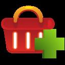 shoppingbasket,add,shoppingbasket icon