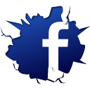 crack, sosyal, social, social media, facebook, sosyal medya, fb, break icon