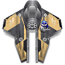 wan, obi, starfighter icon