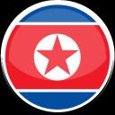 north, korea icon