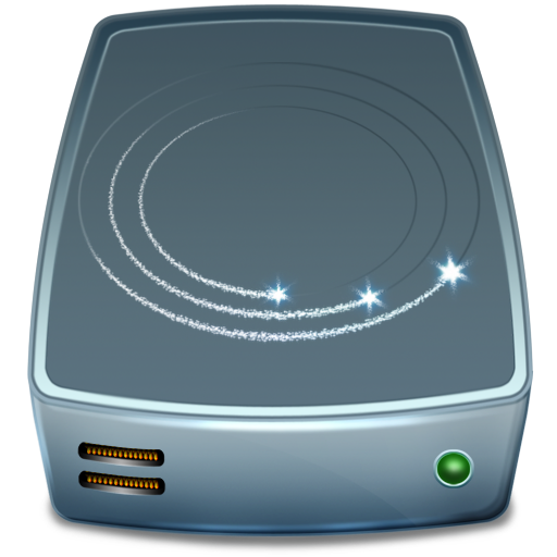 externe, hard drive, hdd, hard disk icon