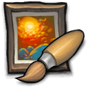 opencanvas, painter, artrage icon