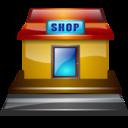 shop, roadside icon