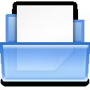 document, paper, file, open icon