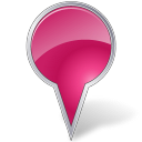 base, bubble, milky, marker, ie, pink, map icon