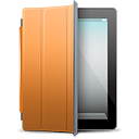 cover, orange, ipad icon