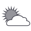 weather, sun, forecast, cloud icon