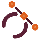 Actions draw path icon