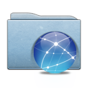 planet, world, aqua, earth, globe, blue, folder icon