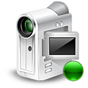 camcorder, cam, webcam, mount icon