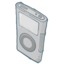 ipod,grey icon