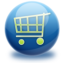 shopping, cart icon