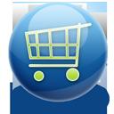 shopping, cart icon