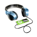 Headphones, Ipod icon