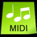 File, Midi icon