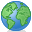 Earth, Green, Planet, Publish icon