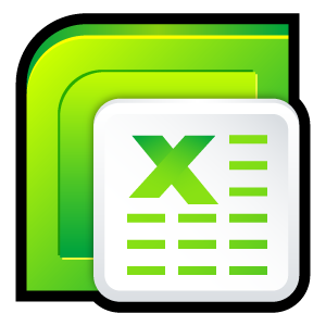 microsoft, office, excel icon