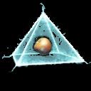 pyramid,power icon