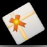 christmas, present, gift, diagram icon