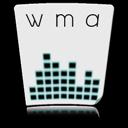 wma, file, paper, document icon