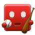 ibaseball, red icon