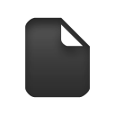 document, text, file icon