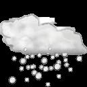 Status weather hail icon
