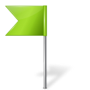 base, left, chartreuse, flag, map, marker icon